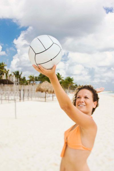 Volleyball Overhand Serving Drills For Beginners Volleyball Workouts Coaching Volleyball Volleyball Training