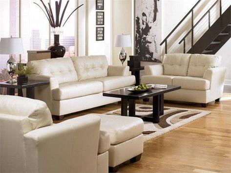 Moderne Leder Wohnzimmer Gesetzt Loungemöbel Sofa