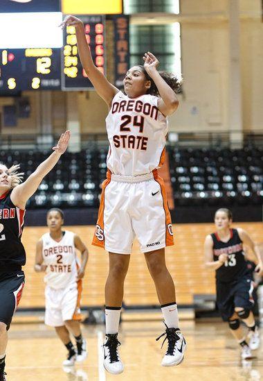 OSU--(24) Sydney Wiese, (15) Jaime Weisner, and (44) Ruth Hamblin.    Gooooooo Beavs!! (Oregon State University, Corvallis, OR)   Pinterest   ESPN