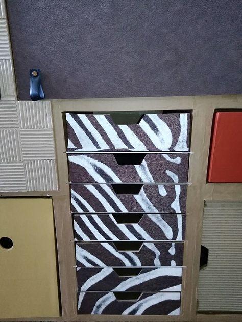 comment personnaliser son meuble en carton pour son bureau   blog