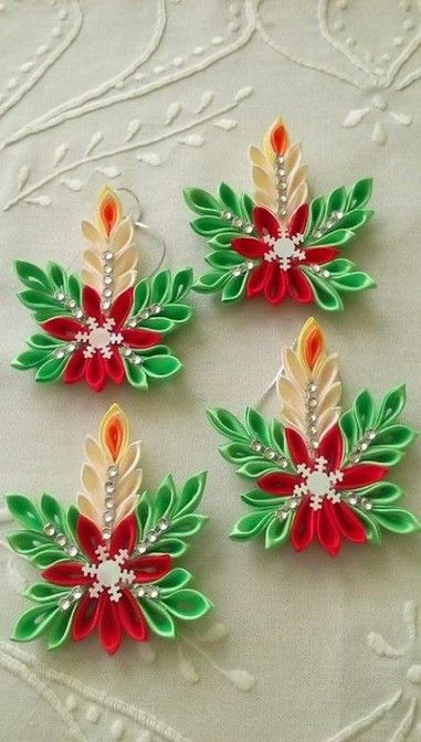 ☞❤ Unique and rare Homemade Christmas Ornaments Ideas -At the point when it's a great opportunity to trim your Christmas tree this year, you might be attracted to your time tested locally acquired ornaments that have been sitting in your storage room throughout the entire year. #Christmas_Ornaments_Ideas #Homemade_Christmas_Ornaments #DIY_Christmas_Ornaments
