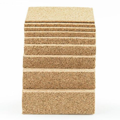 12 X 12 Natural Fine Grain Cork Sheets With Adhesive Backing 5 Sheet Value Pack 1 16 To 1 Thicknesses Available Cork Sheet Outdoor Wood Stain Adhesive