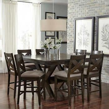 Receive Terrific Suggestions On Pub Sets They Are Actually Readily Avai Counter Height Dining Room Tables Counter Height Dining Sets Black Dining Room Table Counter height square table for 8