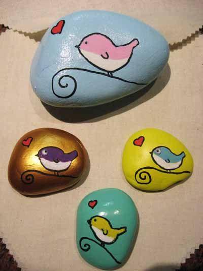 Regala piedras decoradas