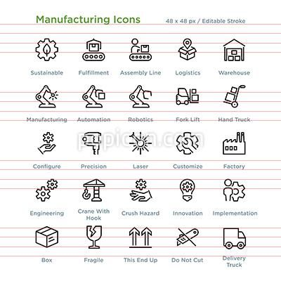 Download Industry And Manufacturing Icon Pack Available In Svg Png Eps Ai Icon Fonts Icon Pack Industrial Icon