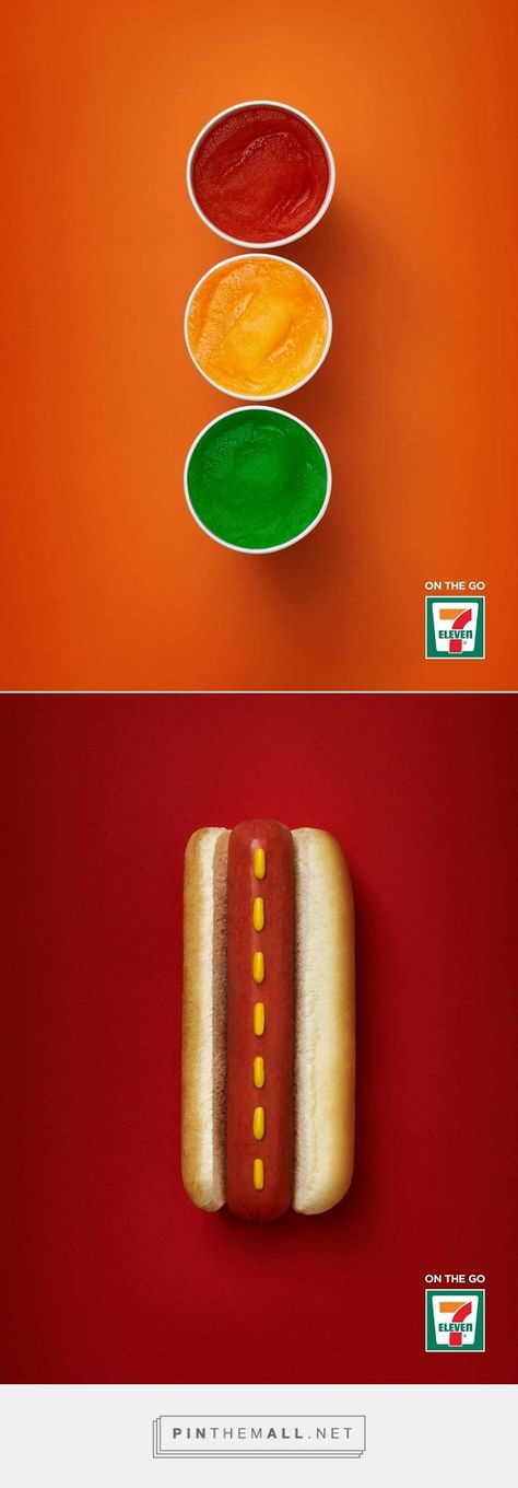 Clever 7-Eleven Ads Show How Its Products Are Perfect For Those On-The-Go - DesignTAXI.com - created via http://pinthemall.net
