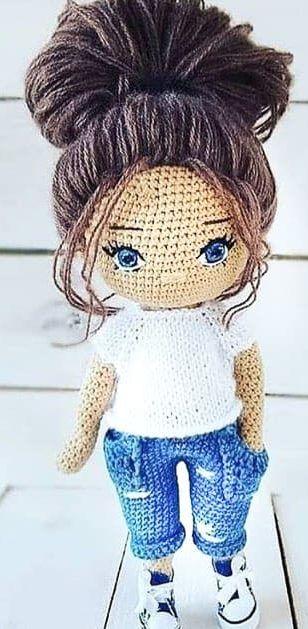 Best Amigurumi Doll Idea | Crochet amigurumi, Amigurumi doll ... | 629x308