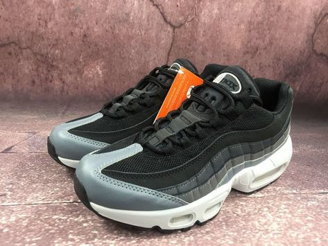 101c5ee709e7ba Men Nike Air Max 95 Essential Black Dark Grey White 749766-021 Size ...