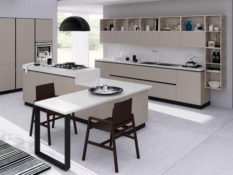 515 Best Modern Kitchen Matt Design Images On Pinterest   Modern Kitchens,  Kitchen Ideas And Grey Kitchens