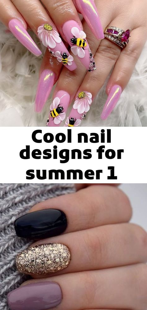 Cool nail designs for summer 1