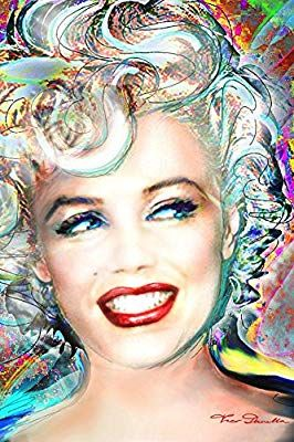 Amazon Com Theo Danella Marilyn Monroe Electric Poster By Theo