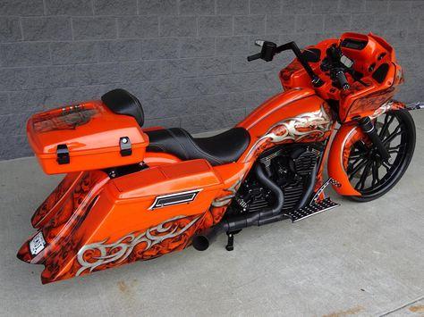 "2013 Harley-Davidson ROAD GLIDE CUSTOM - SCREAMIN' EAGLE 120R MOTOR - 26"" BIG WHEEL BAGGER"