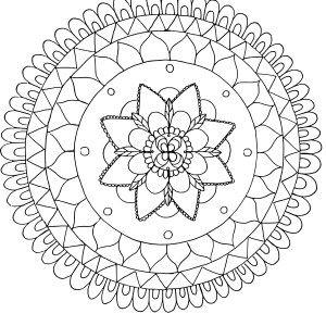 Ein Mandala Zeichnen In 3 Schritten Zu Deinem Eigenen Design Perks Of Being A Student Mandala Malvorlagen Mandala Vorlagen Einfaches Mandala