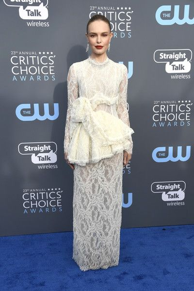 Kate Bosworth in Brock Collection - The Most Daring Dresses at the 2018 Critics' Choice Awards - Photos