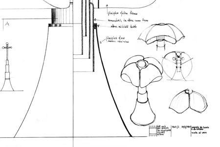 Pipistrello By Gae Aulenti For Martinelli Luce Mu De To Museo Del Design Toscano Museo Design Toscana Museo Del Design Pipistrello Design Toscano