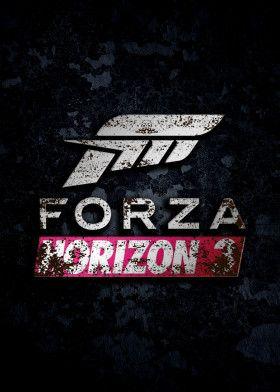 Forza Hrizon 3 Game Lover Gift Ideas Gaming Lover Gifts Game Logo Gaming Logo Gaming Posters Game Lover Poster Gaming Posters Fan Art Poster Prints