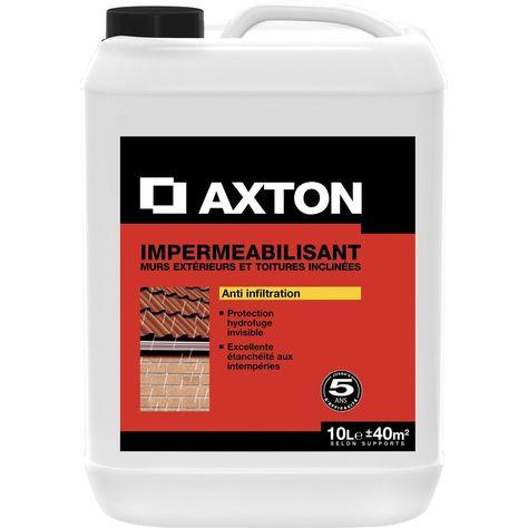 Impermeabilisant Facade Axton 10 L Appui De Fenetre Peinture Facade Et Produits