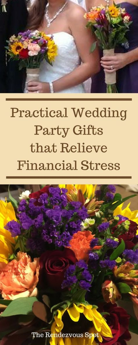 Practical Wedding Party Gifts that Relieve Financial Stress for Your Wedding Party  #weddings #weddingplanning #diywedding #budgetwedding #weddinggifts