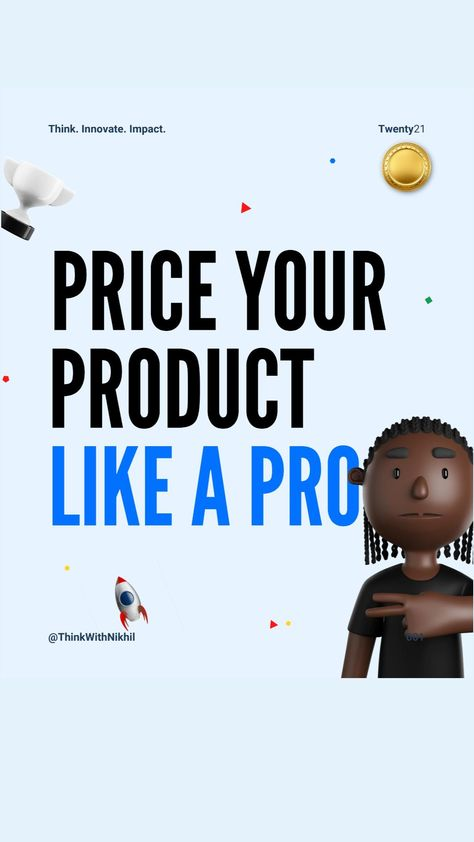 Price Your Product Like A Pro With This