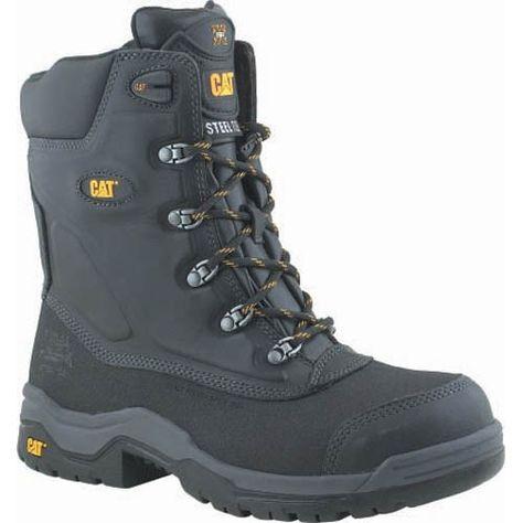 CAT Supremacy SRX Safety Boots Black