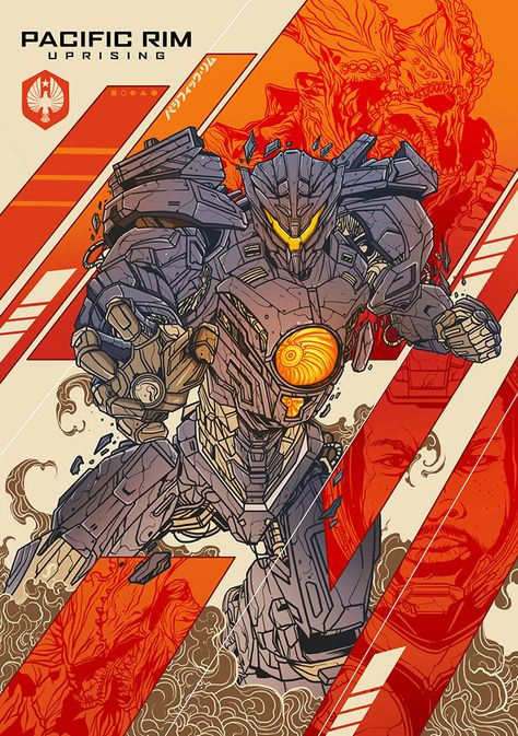 Pacific Rim: Uprising by Gorilla Machines - Home of the Alternative Movie Poster -AMP-