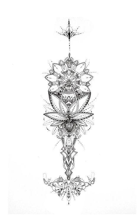 New Tattoo Mandala Vorlage 43 Ideas Mandala