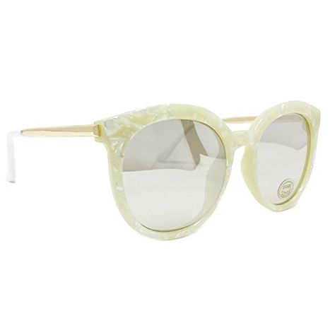 5d88e841df FRILLS Oversized Round Kids Polarized Girls Sunglasses for Baby and Children  Age 312 Ivory     Learn more by visiting the image link.  FashionForchild