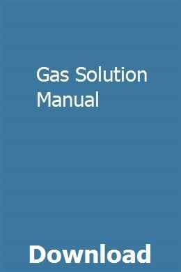 Gas Solution Manual Manual Smart Fortwo Study Guide