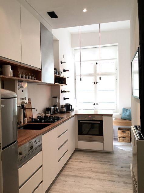 Küche im Altbau Altbauten, Traumküchen und Küche - küche ohne oberschränke