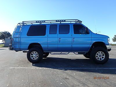 1996 Ford E350 12 Passenger Van 4x4 7 3 Diesel With Images