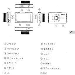 Amazon Co Jp カスタマーレビュー 進化版 Apeman ドライブレコーダー 1080p Full Hd 10万画素 3 0インチ液晶 170度広角 G センサー 常時録画 高速起動 Wdr F1 8大口径 Led信号機対応ドラレコ 1年保証 画素 録画 説明書