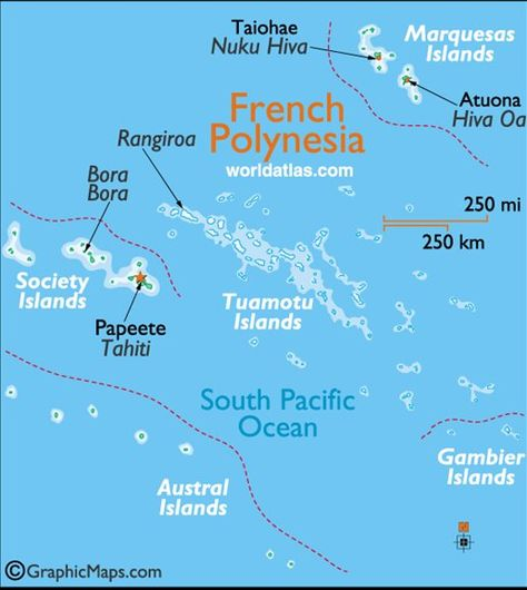 Bora Bora Island Map And Location French Polynesia Bora
