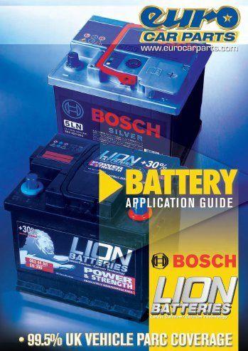 Battery Catalogue Euro Car Parts Car Parts Car Buying Car Battery