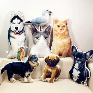 Custom Pet Photo Pillow Best Gift For Pet Lovers Tierkissen Hund Diy Hunde Kissen