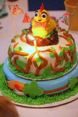 Chica Birthday Cake