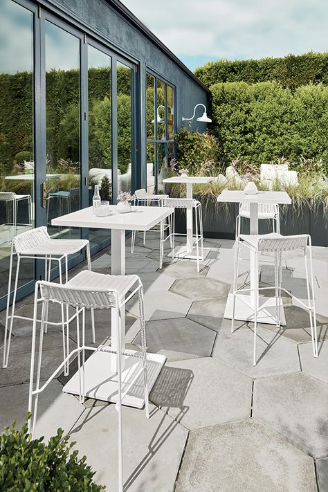 Patio season! Outdoor furniture that can weather the elements makes enjoying the sunshine that much easier.