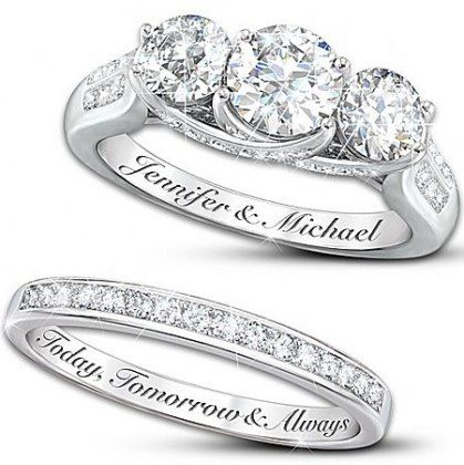 Wedding Bands Engraved Quotes Products 63 Super Ideas Engraved