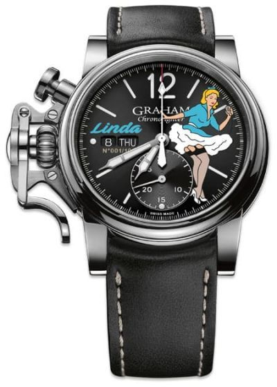 Graham Chronofighter Vintage Nose Art Limited Edition 2CVAS.B27A - Exquisite Timepieces