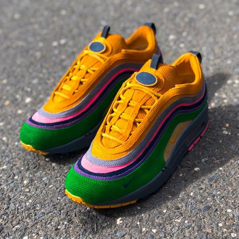 be8dc50a84c82 Sean Wotherspoons Nike Air Max 97 1 Transformed Into Eclipse By Mache  Customs