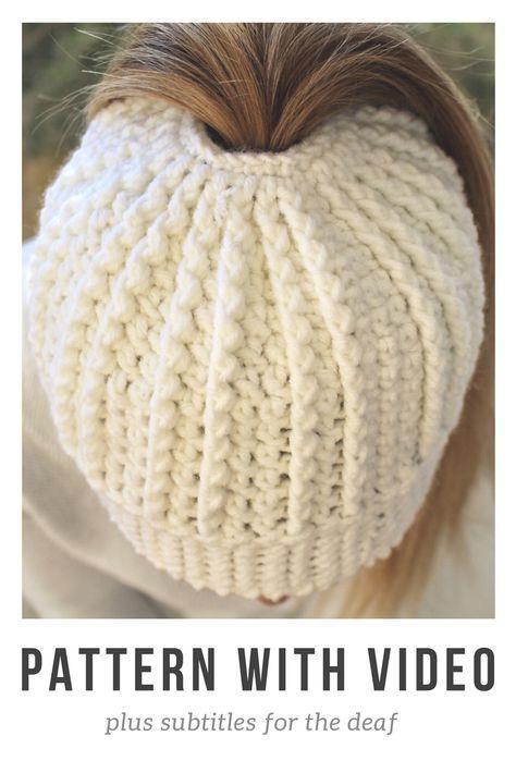 Vertical Ribbed Beanie Hat Crochet   Hat Crochet   Pinterest