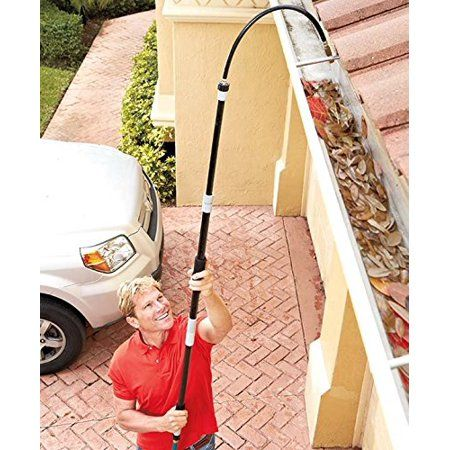 Super Blaster Home Gutter Spray Wand Walmart Com In 2020 Gutter Cleaning Tool Cleaning Gutters Gutters