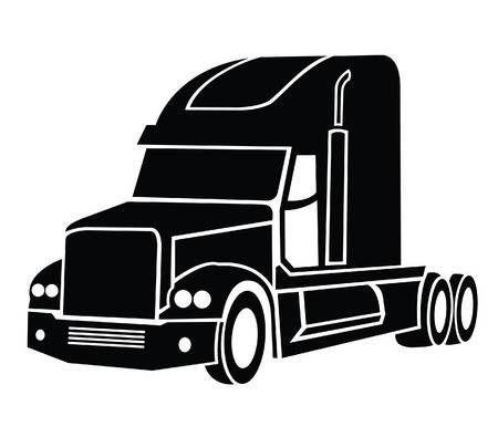 Camion Simbolo Calcomanias Para Coches Camion Dibujo Camiones De Juguete De Madera