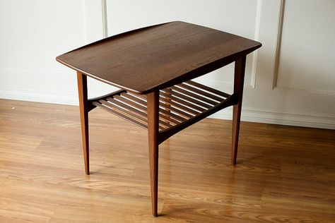 Grete Jalk For France And Son Side End By Microscopetelescope End Tables Teak Side Table Table