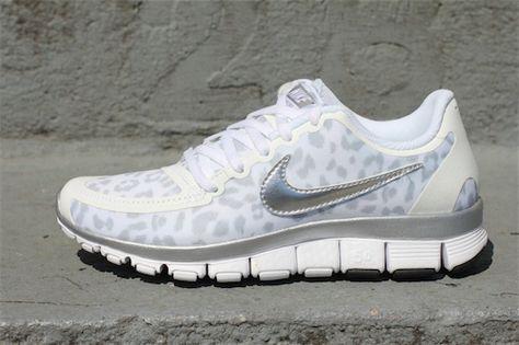 Nike Free Running 5.0 V4 Grey Leopard