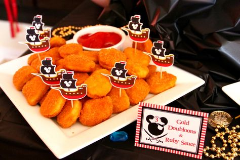 Mickey Mouse Pirate Birthday Party Ideas | Photo 13 of 27 | Catch My Party