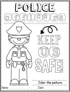 Community Helpers: Police Officer   worksheets   Community helpers
