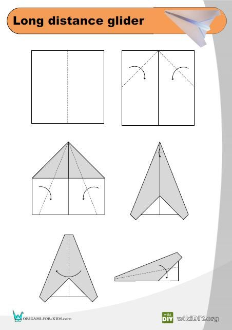 Simple Origami Airplane Instructions In 2020 Paper Airplane Template Paper Airplanes Make A Paper Airplane