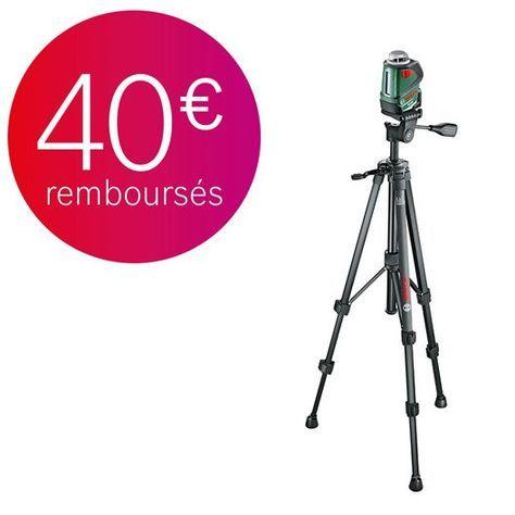 Niveau Laser Rotatif Trepied Bosch Pll 360 Set Premium Leroy