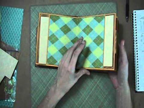 Scrapbook Tutorial - JAnnBDesigns Envelope Mini Album, Video 5 of 5
