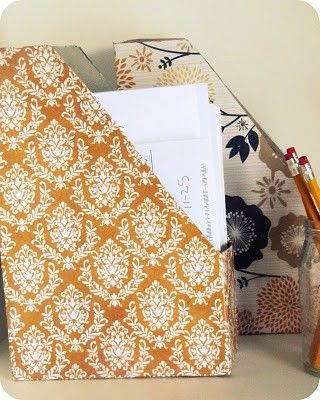 advice request: office decor « the life academic - Ceral Box w/ pretty paper